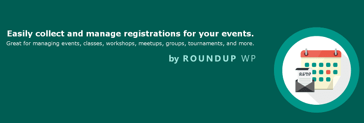 Registrations for the Events Calendar