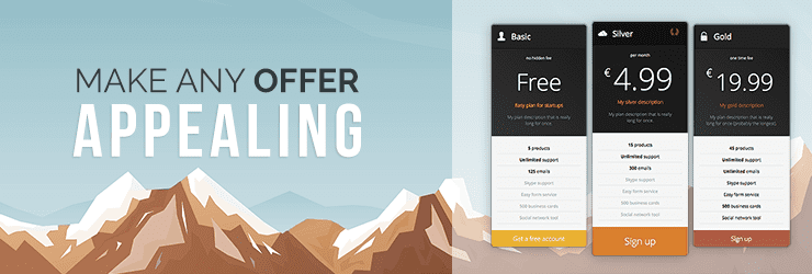 Responsive Pricing Table