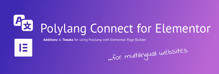 Polylang Connect for Elementor
