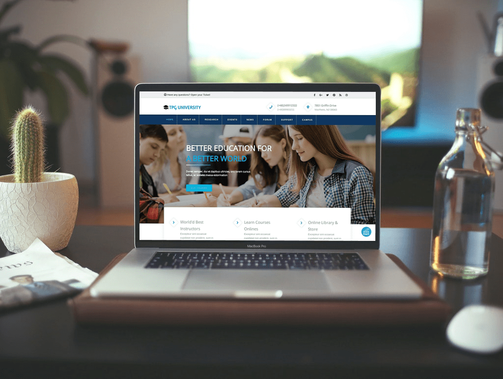 tpg-university-wordpress-theme
