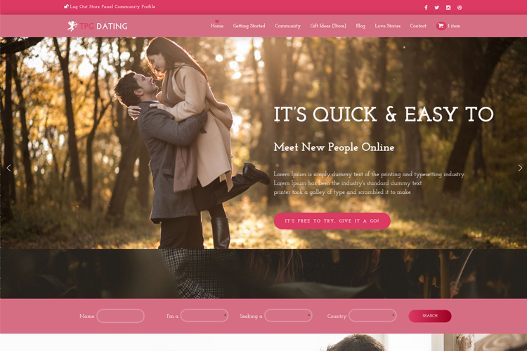 themeforest - søde dato v.2.6.2 - mere end et wordpress dating tema gratis online dating christian singles