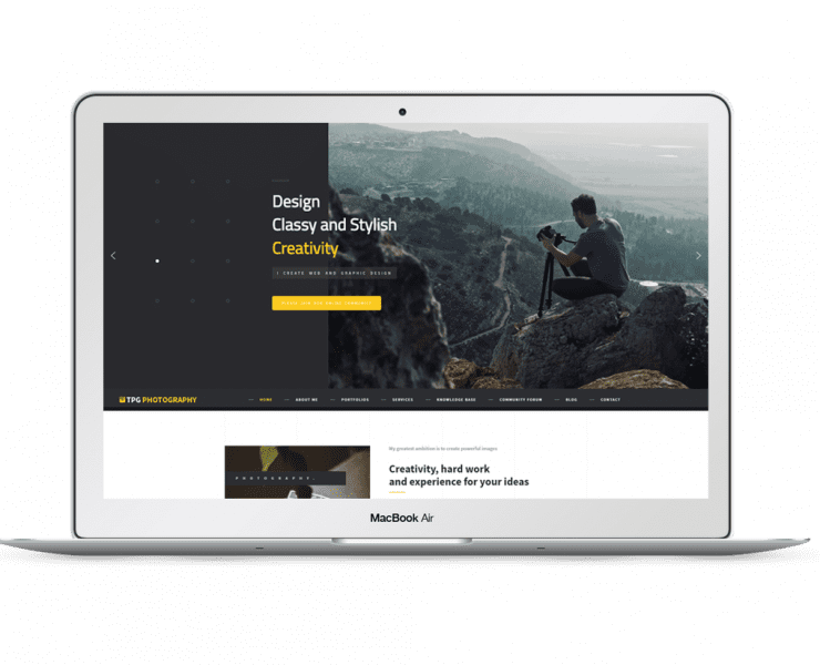 tpg-photography-free-responsive-wordpress-theme-screenshot