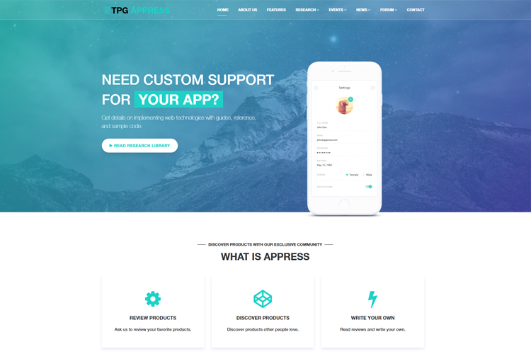 tpg-appress-free-responsive-wordpress-theme-home