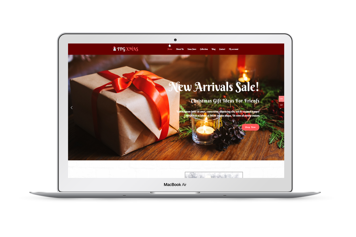 TPG-xmas-free-wordpress-theme