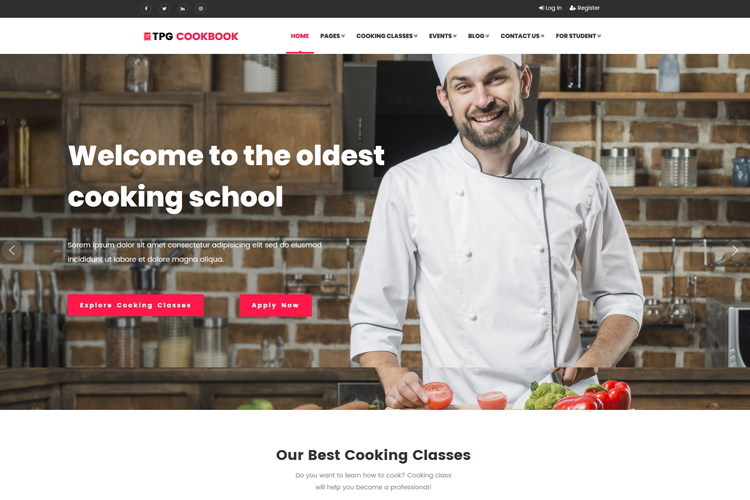 tpg-cookbook-free-responsive-wordpress-theme-home