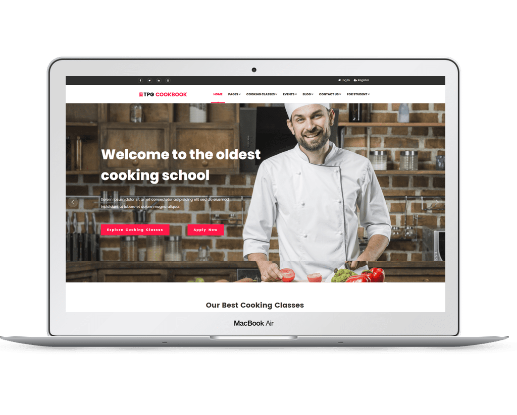 tpg-cookbook-free-responsive-wordpress-theme-laptop