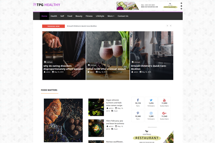 tpg-healthy-free-responsive-wordpress-theme-home